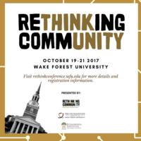 Rethinking Community Conference