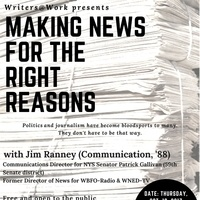 Making News for the Right Reasons - Writers @ Work