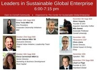 Leaders in Sustainable Global Enterprise