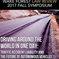 Driving Around the World in One Day: Traffic Accident Liability and the Future of Autonomous Vehicles