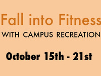 FREE GROUPX Classes || Fall into Fitness with Campus Recreation