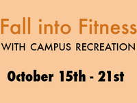 Wellness Wednesday || Fall into Fitness with Campus Recreation