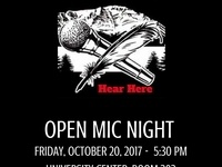Disability Awareness Month: OPEN MIC NIGHT