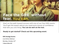 GRE Strategy Session Free Webinar