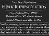 EJF Annual Public Interest Auction