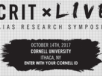 CRIT Live: American Institute of Architecture Students (AIAS) Research Symposium