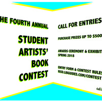 4th Annual Student Artists' Book Contest Submission Deadline Approaching!