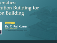 The Future of Indian Universities:  Institution Building for Nation Building