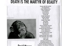 """Death is the Martyr of Beauty"" by David Meyers,  MA Student in the School of Art and Art History"