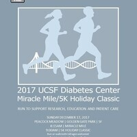 2017 UCSF Diabetes Center Miracle Mile/5k Holiday Classic