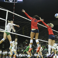 UO Volleyball vs. Arizona