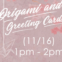 Origami and Greeting Card Making
