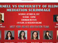 Scheinman Institute Student Mediation Scrimmage