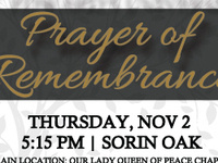 Interfaith Prayer of Remembrance