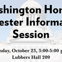 Washington Honors Semester Information Session