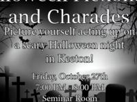Halloween Pictionary and Charades with KC Nitesh