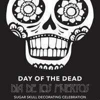 """Day of the Dead, Dia de los Muertos"""" Sugar Skull decorating celebration"""