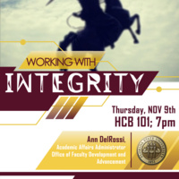Working with Integrity