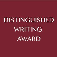 Distinguished Writer's Award - Dr. Michael Berenbaum