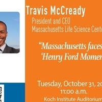 Koch Institute Presents A Special Seminar with Travis McCready