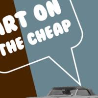 Art on the Cheap Panel