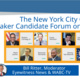 CANCELLED - NYC City Council Speaker Candidate Forum on Human Services