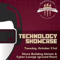 College of Education Technology Showcase