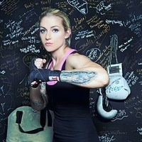 Boxing Fitness Session with Dawn North for Students
