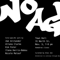 No Agenda: Site-Specific Work by Visiting Studio Art Faculty