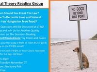 Legal Theory Reading Group