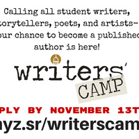 Writers' Camp Registration Deadline