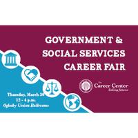 Government & Social Services Career Fair