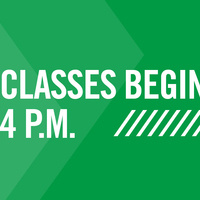 Classes Begin After 4 p.m.