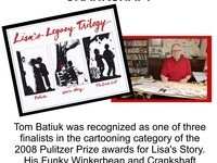 Talk and Signing with Funky Winkerbean Creator Tom Batiuk: Lisa's Legacy Trilogy