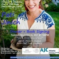 SOLD OUT! 2016 Emmy Award Nominee Chef Pati Jinich: Dinner + Book Signing