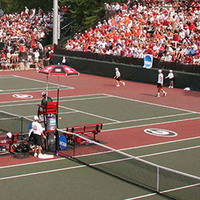 University of Georgia Men's Tennis vs Battle in the Bay Tournament