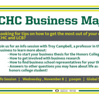 CHC Business Majors: Tips and Tricks from an LCB Insider