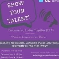 Women's Empowerment Dinner Auditions