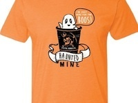 Haunted Mine T-shirt Sales