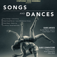 "Symphonic Wind Ensemble presents ""Songs and Dances"""