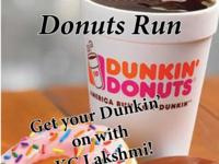 Dunkin Donuts Run