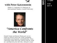 """Conversation at Keeton: Peter Katzenstein: """"America Confronts the World"""""""