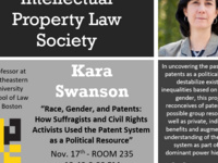 Intellectual Property Law Society Guest Speaker