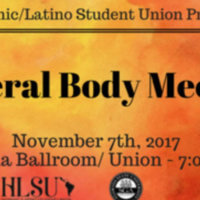 HLSU General Body Meeting
