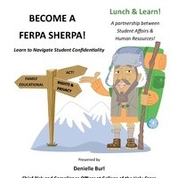 Lunch & Learn - Become a FERPA SHERPA!