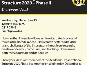 UI Academic Organizational Structure 2020 - Phase II