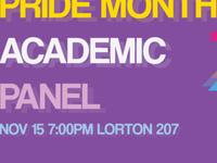 PRIDE Month Academic Panel