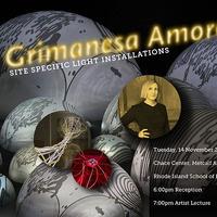 Visiting Artist   Grimanesa Amorós   Division of Fine Arts