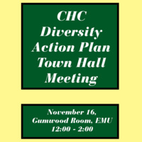 CHC Diversity Action Plan Town Hall