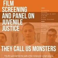 SOCIAL JUSTICE TUESDAY PRESENTS:  PANEL ON JUVENILE JUSTICE